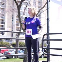 Speaking at Run For Women